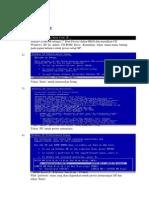 Setup Windows Xp