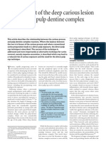 Management of the deep carious lesion