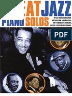 Great Jazz Piano Solos Book 1