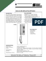 Aiphone Model TD-HL-SS- Westside Wholesale - Call 1-877-998-9378