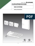 Aiphone Model NHX Install & Op Man, 0602- Westside Wholesale - Call 1-877-998-9378