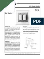 Aiphone Model NHR-3TS Spec Sheet- Westside Wholesale - Call 1-877-998-9378