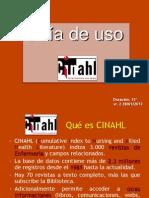CINAHL Guia de Uso Vr. 2
