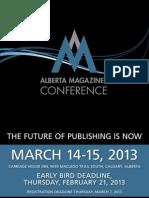 Alberta Magazines Conference