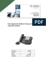 Manual Polycom 650 Con Centralita Asterisk