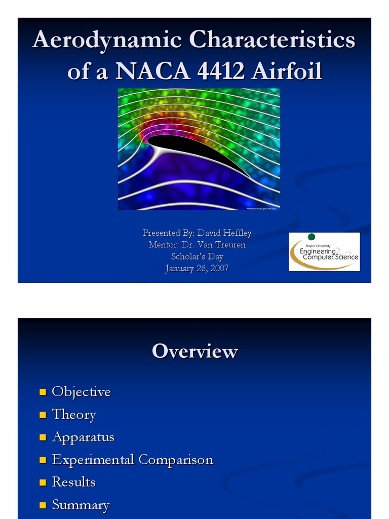 naca 4412 | Airfoil | Lift (Force)