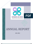 Women In Need Annual Report 2011-2012