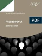 Psychology A
