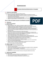 Description de Poste_Assistant Administratif Et Comptable_PACCS 2013