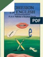 Cohesion in English - Halliday & Hasan (1976)