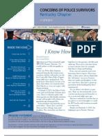 KY C.O.P.S. 1st Quarter Newsletter - 2013