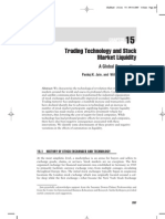 Trading Technology and Stock Market Liquidity by Jain and Johnson (2007)