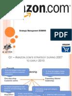 Strategic Management Case Study on Amazon