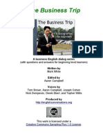 the bussiness trip