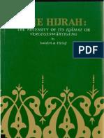 The Hijrah- The Necessity of Its Iqamat or Vergegenwartigung