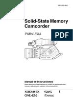 Manual Sony Xdcam Pmw Ex3