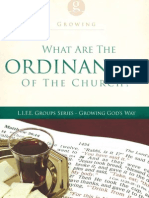 The Ordinances of the Local Church