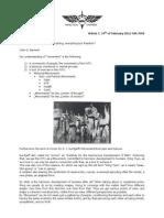 Movement - Wing Tsun Universe, WTU Article 0-7 Engl.