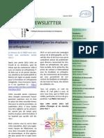 Newsletter Janvier 2013