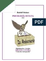 Rudolf Steiner - Psicologia Oculta