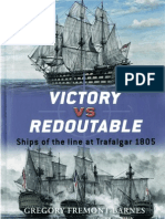 Victory vs Redoutable Ships of the line at Trafalgar 1805 (Osprey Duel 09)