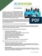 Summer Kenya Internship 2013