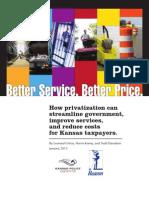 Better Service, Better Price