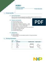 BGA2501 Datasheet