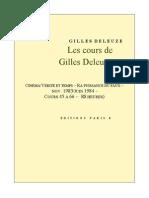 Deleuze Cours Cinema 3
