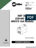 Maquina de Soldar Miller-Xmt304 - Manual