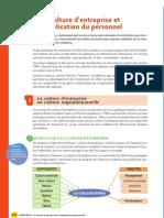 Culture d'Entreprise Et Implication Du Personnel