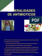 Antibioticos y Sus Generalidades