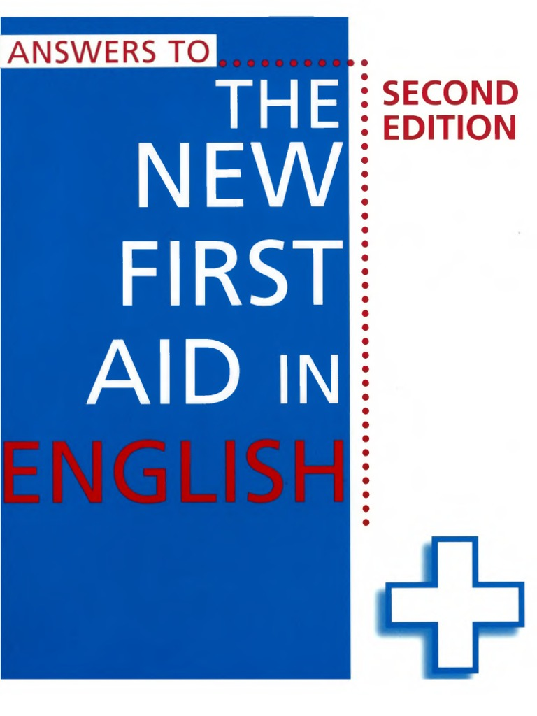 The new first aid in english 2nd ed answers word pronoun fandeluxe Choice Image