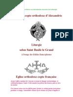 Liturgie de St Basile