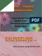 tahap-tahap dalam kaunseling
