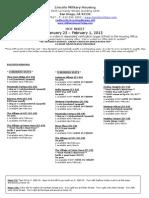 Hot Sheet Jan 25-Feb 1