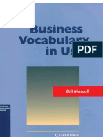 Bussiness Vocabulary