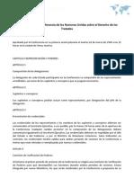 Reglamento de la Conferencia de las Naciones Unidas sobre el Derecho de los Tratados