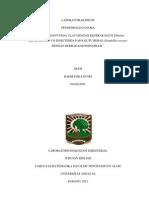 laporan pengendalian hama