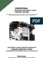 Proposal Rutilahu