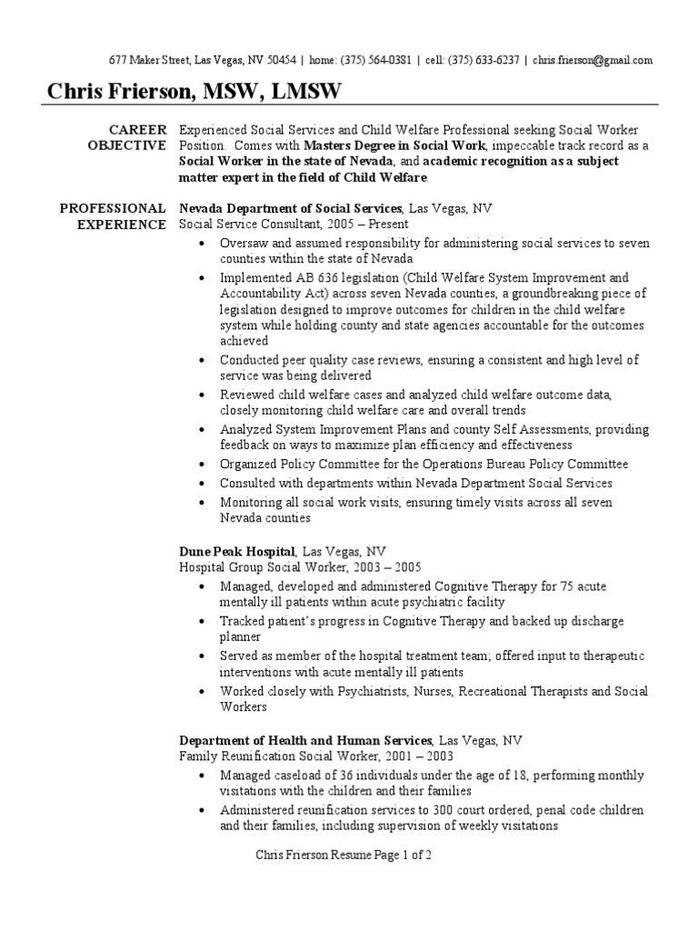 Social Worker Resume Sample Social Work Psychiatry 1506042267 Social Worker  Resume Sample