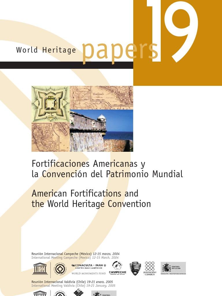 4879d94d7194a Las Fortificaciones en America Latina y La Convencion de Patrimonio Mundial