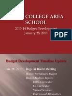 SCASD Budget Presentation