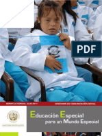 EDUCACIÓN ESPECIAL GUATEMALA