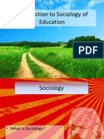 introduction to sociology of education