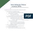 Algoritmo Notación Polaca Inversa