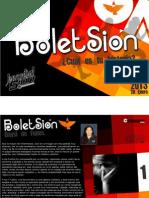 Boletin Juventud Sion 28 de Enero 2013