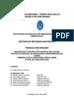 Revisión de Matriz de Leopold EIA OLMOS