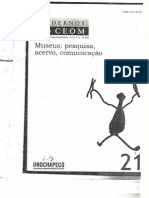 Museu, museologia e pensamento social brasileiro - Mário Chagas