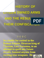 History of Citizen-Owned Arms - PowerPoint